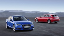 The new Audi A4 sedan and Avant Wagon