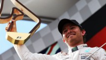 Nico Rosberg takes victory at the Red Bull Ring in Austria