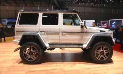 If the mighty G63 AMG 6x6 is a little out of your range, rather opt for this: the G500 4x4²