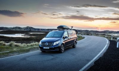 The Mercedes-Benz V-Class is definitely bigger than your average MPV