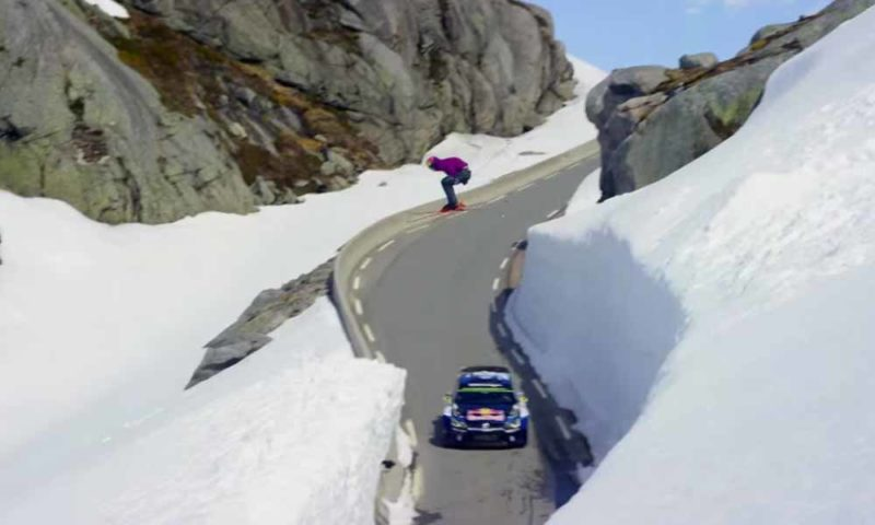 Downhill Skier vs WRC Racer [video]