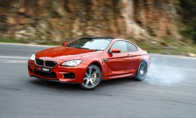 BMW M6 Performance Pack front