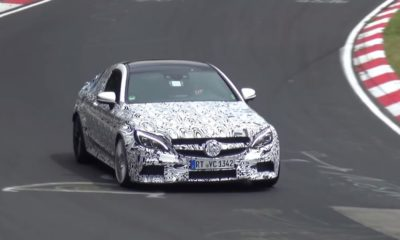 Mercedes-AMG C63 Coupe testing [video]