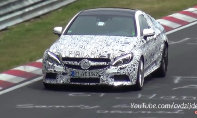 Mercedes-AMG C63 Coupe testing