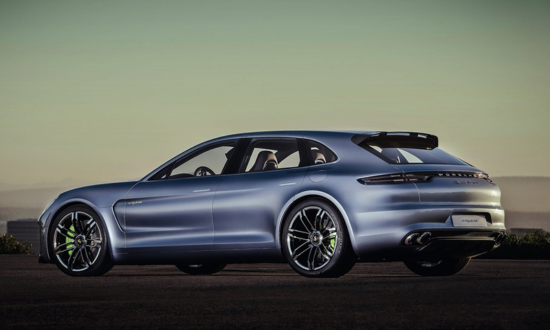 The Pajun could share styling cues with Porsche's Panamera Sport Turismo concept