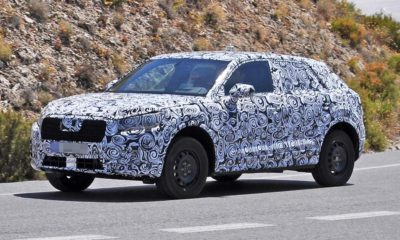 Audi Q1 spotted testing