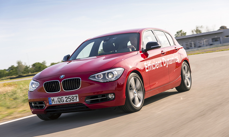BMW 1 Series direct water injection prototype
