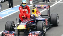 Alonso was a prominent figure in trying to persuade Webber to join Ferrari