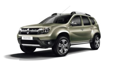 Facelifted Renault Duster