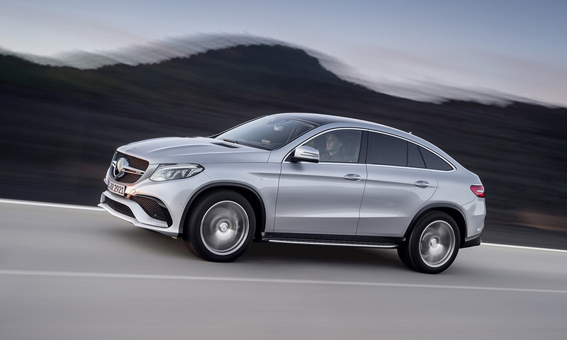 Mercedes-AMG GLE 63 S Coupe side