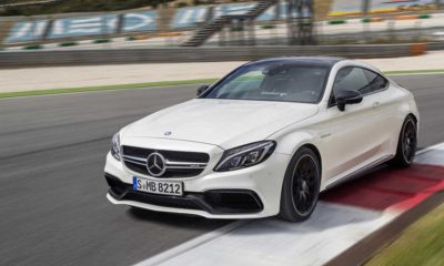 Mercedes-AMG C63 Coupe side