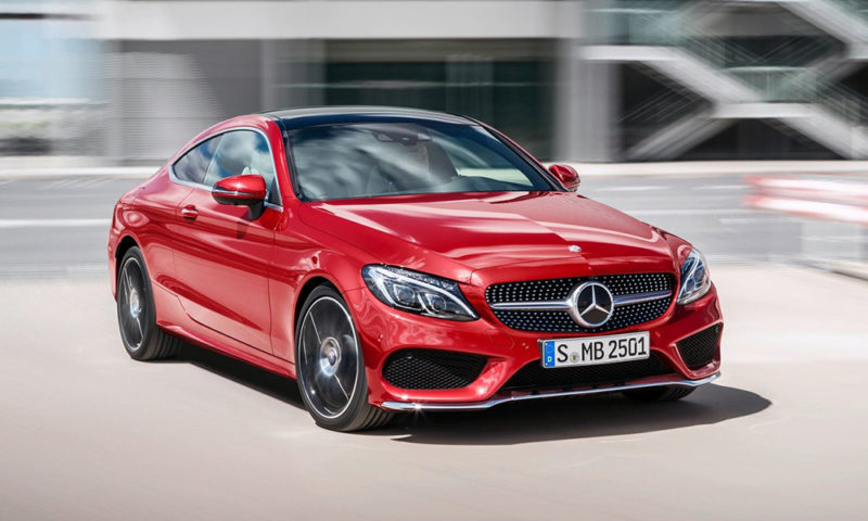The wraps have been lifted off the 2015 Mercedes-Benz C-Class Coupé ahead of the car's official unveiling at next month's Frankfurt Motor Show.
