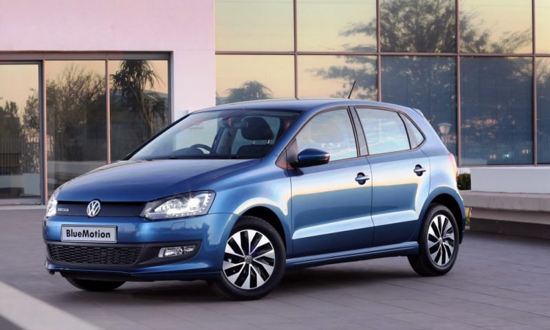 Volkswagen Polo Bluemotion front