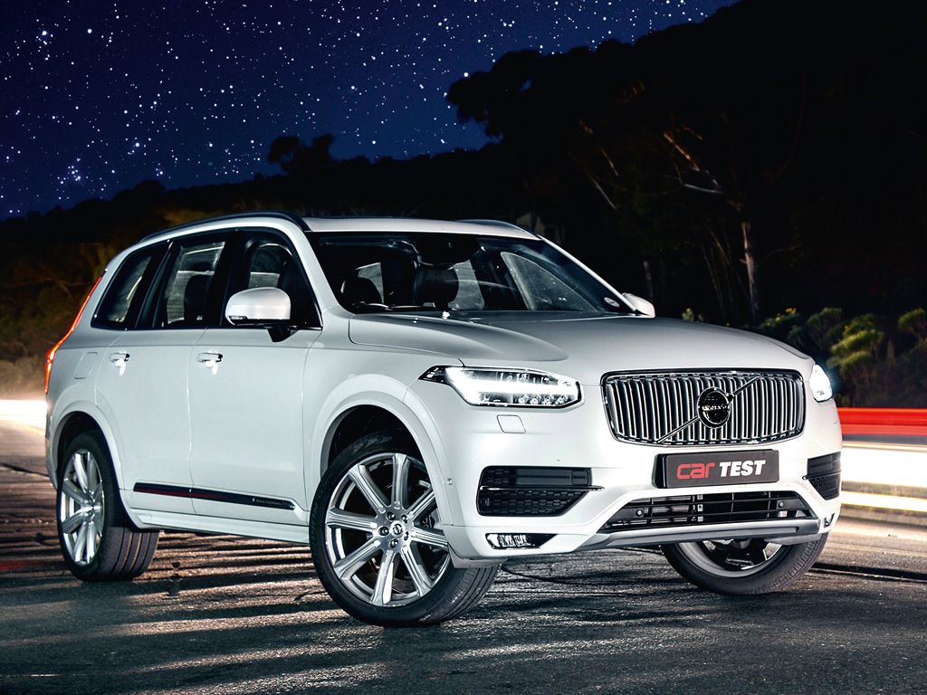 road test  volvo xc90 t6 inscription