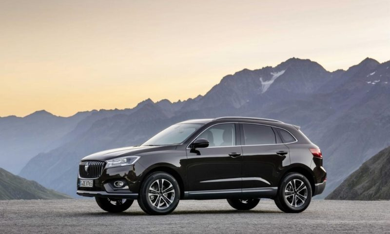 Borgward return with the BX7