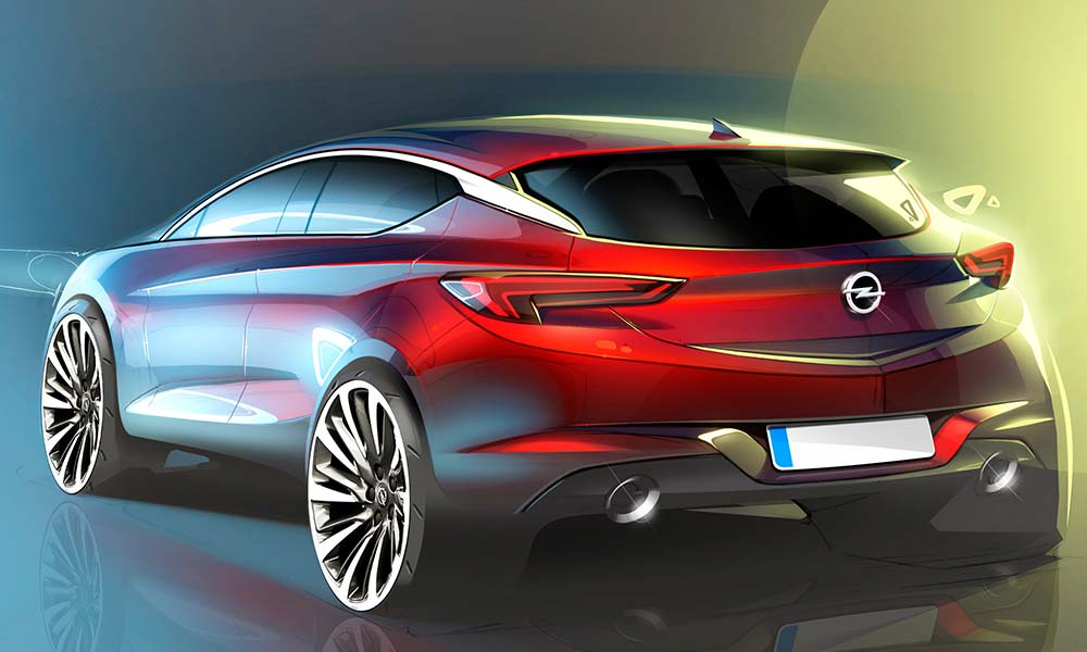 Next-gen. Opel Astra OPC to get 1,6 turbo engine - CAR magazine