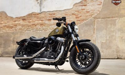 Harley Davidson Forty Eight front