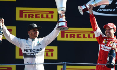 Italian GP: Lewis wins, heartbreak for Nico