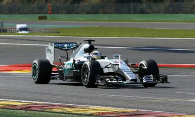 Hamilton was really in a class of his own in Belgium