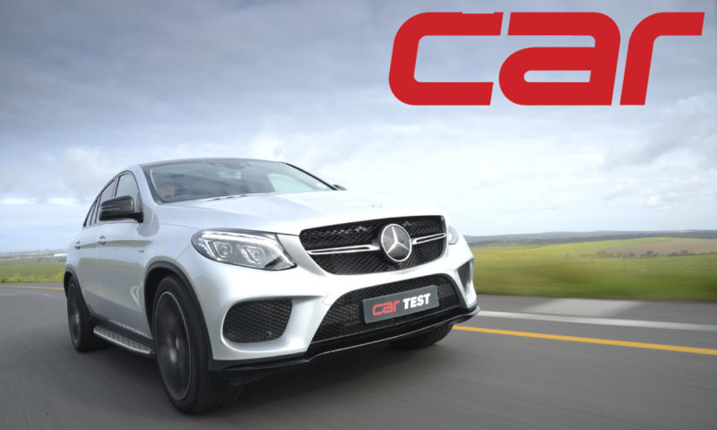 Mercedes-Benz GLE450 AMG Coupe front