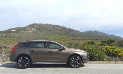 Volvo V60 Cross Country side