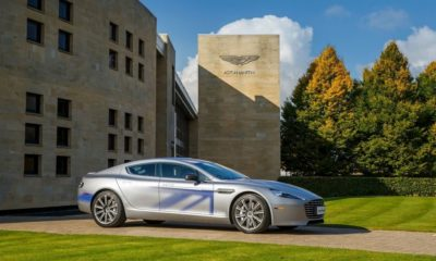 Aston Martin RapidE Concept revealed