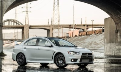 The Mitsubishi Lancer Evolution Final Edition
