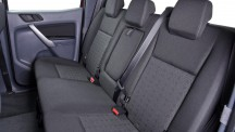 Ford Ranger Rear seats