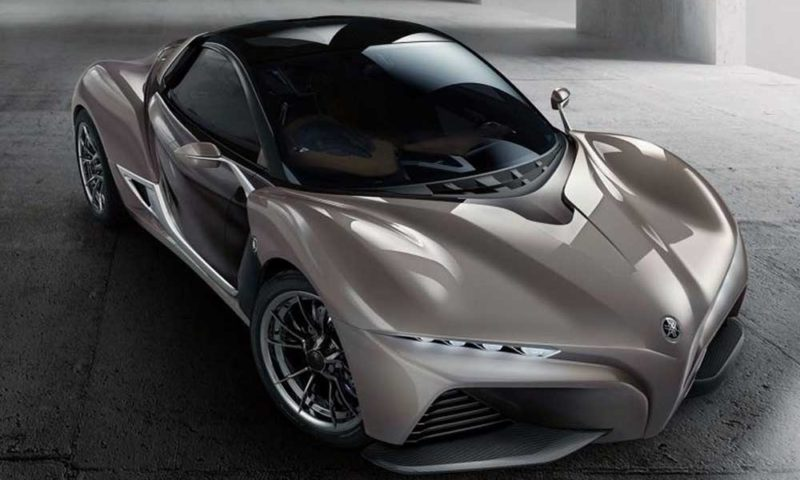 Yamaha Sport Ride Concept front