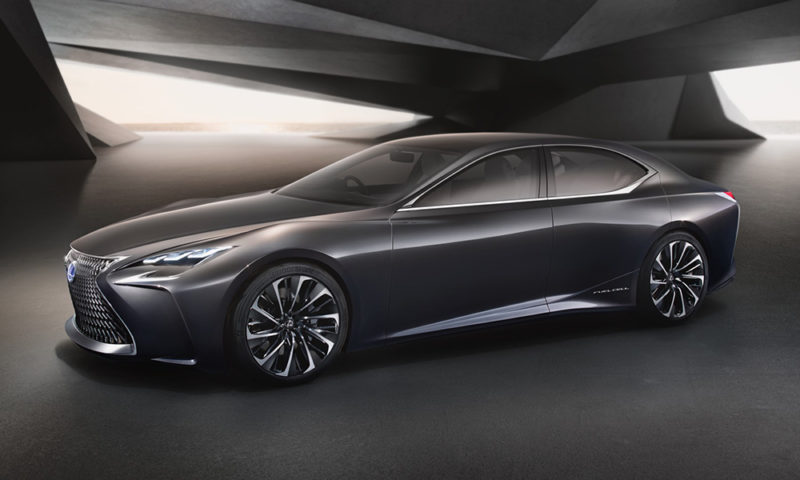 Lexus reveals its LF-FC fuel cell concept