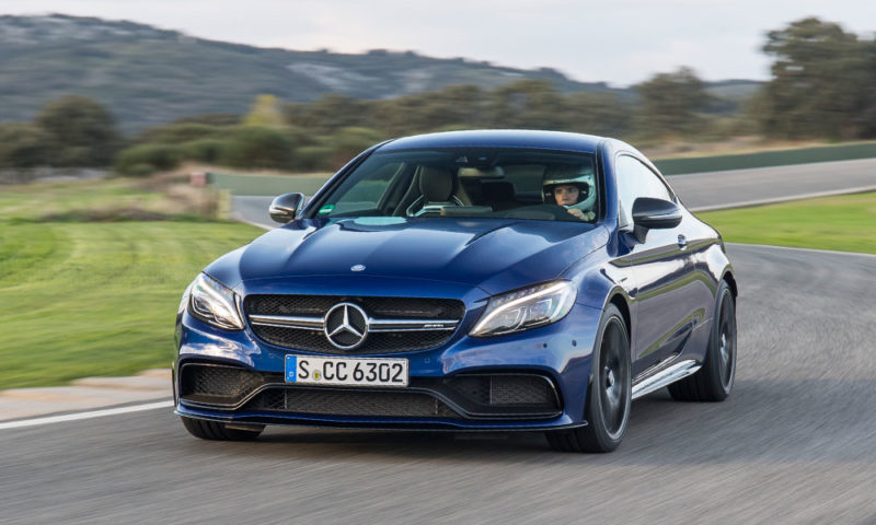 Mercedes-AMG C63S Coupe front