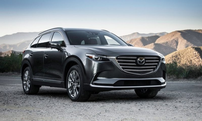 Mazda CX-9 revealed as range topping SUV