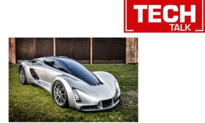 Techtalk 3D printed car