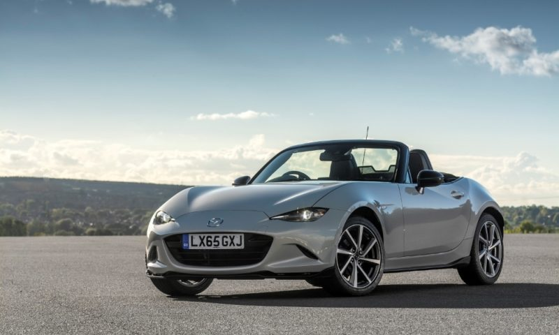 Mazda's MX-5 receives a Recaro work-over