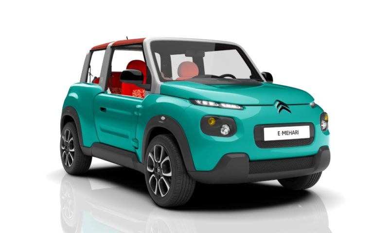 Citroen E-Mehari Confirmed
