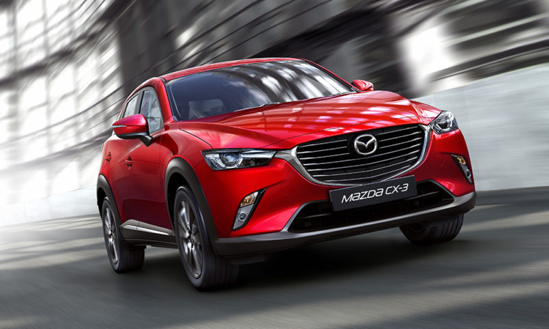 The CX-3 quits itself well round town