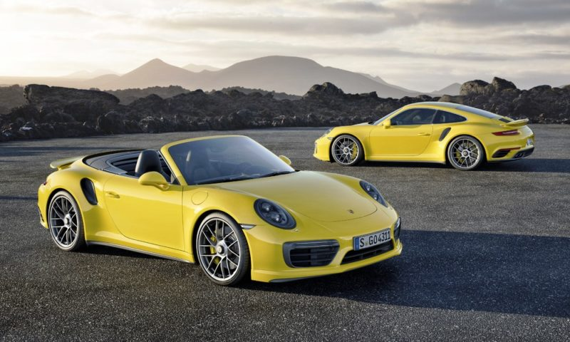 Porsche gives the 911 Turbo S a Facelift