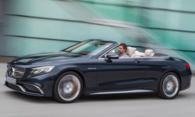 The S65 Cabriolet hits 100 km/h from standstill in 4,1 seconds
