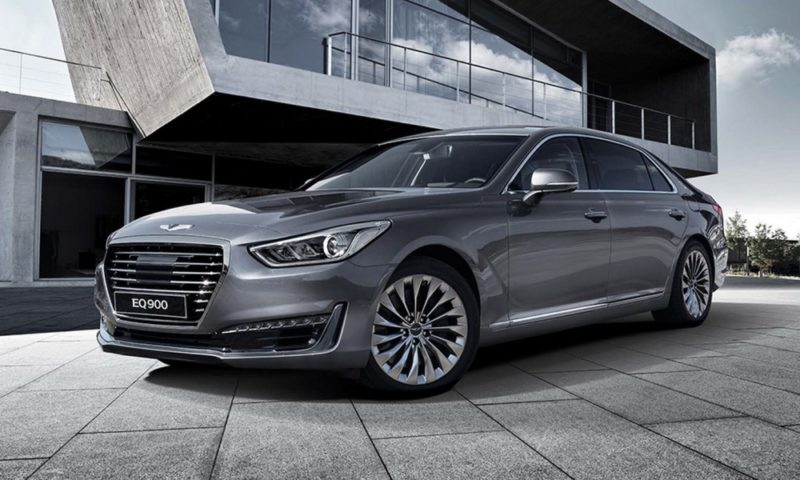 Hyundai reveals the Genesis G90