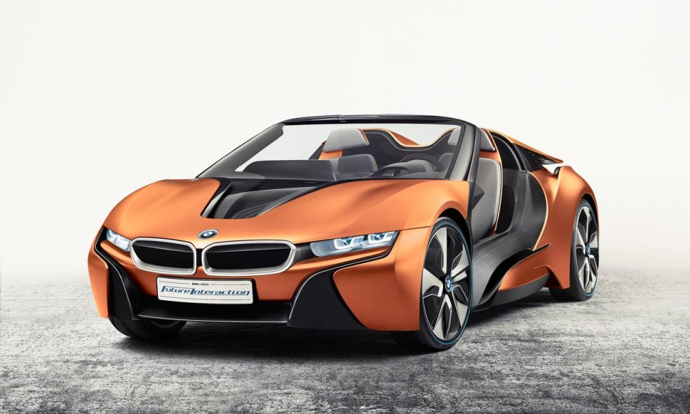 This is the BMW i Vision Future Interaction