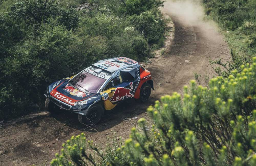 Loeb on his way to winning Stage 2