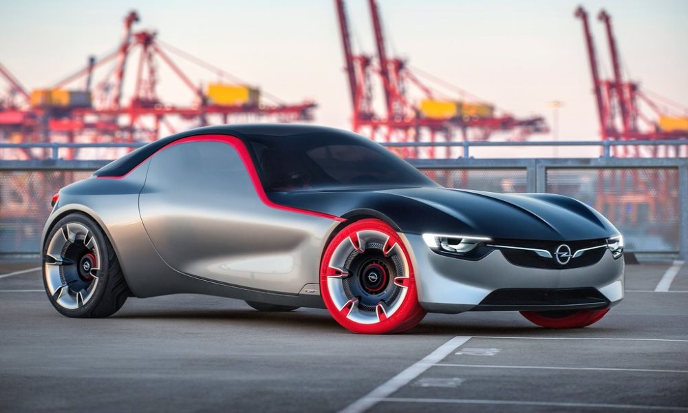 Opel GT Concept goes back to basics
