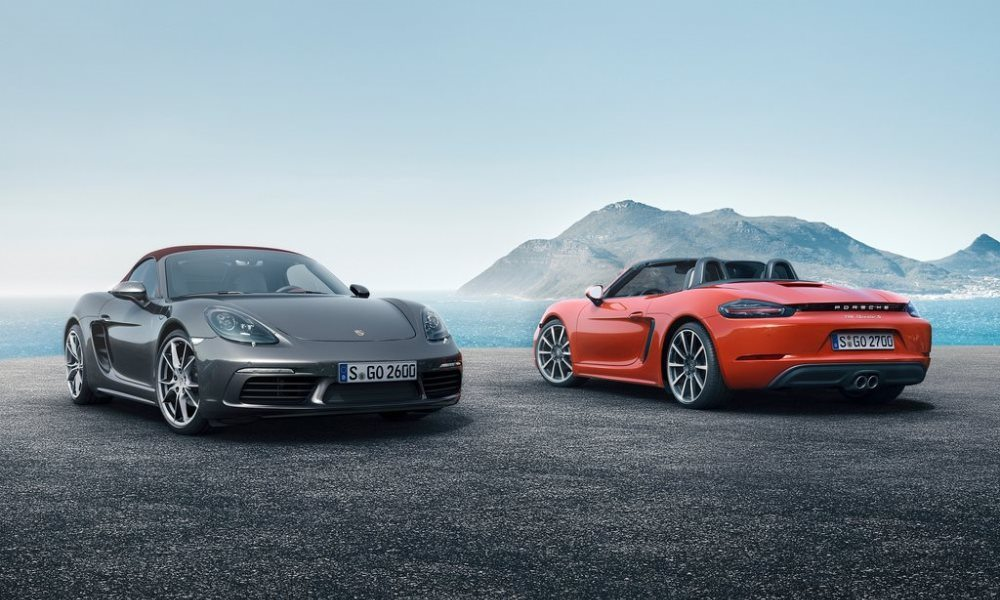 Porsche 718 Boxster revealed