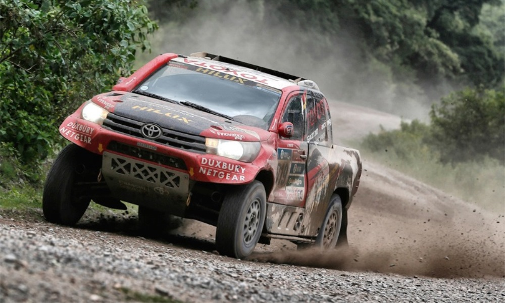 Dakar Rally Stage 3: Loeb pushes lead on