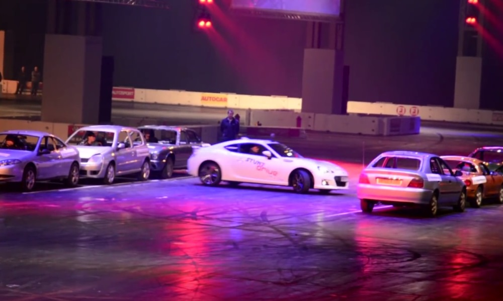 VIDEO: BRZ breaks a world record