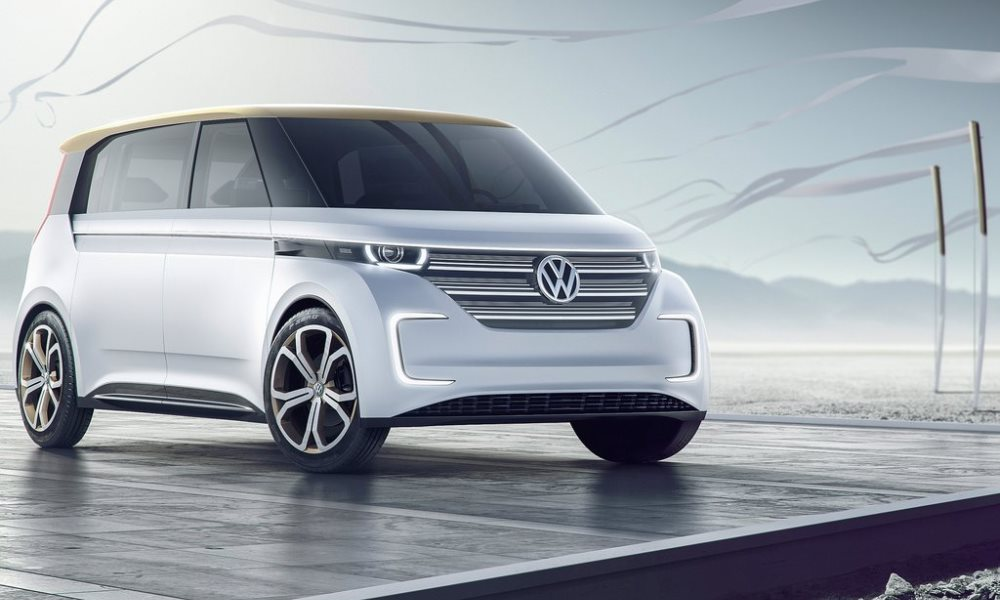 VW reveals its BUDD-e Concept