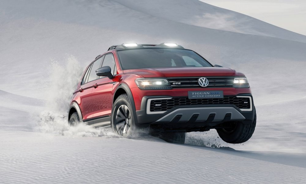 VW Tiguan GTE Active Concept Revealed