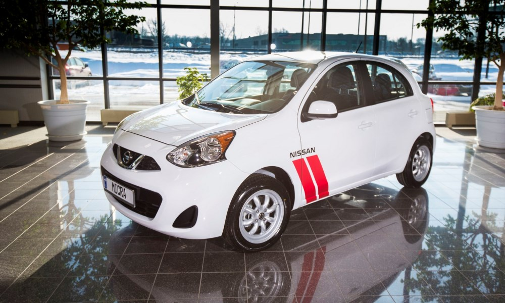 This is the Nissan Micra Cup