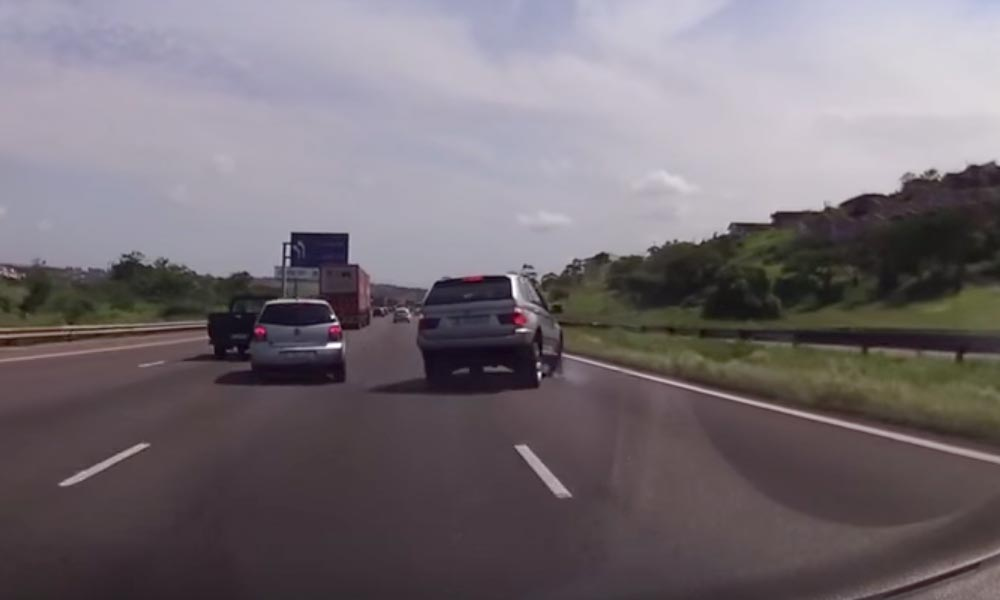 BMW road rage