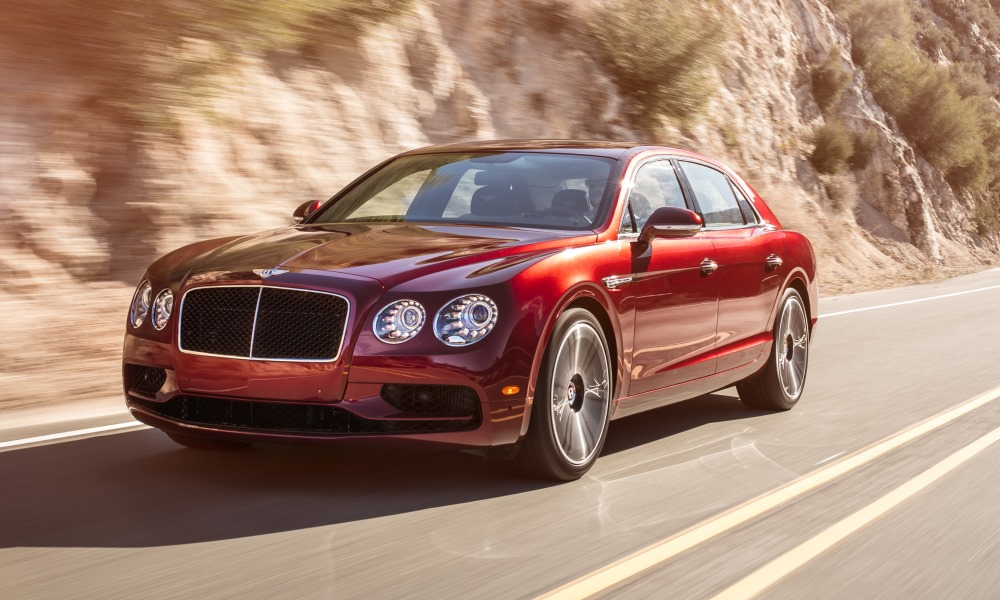 Bentley Flying Spur V8 S front